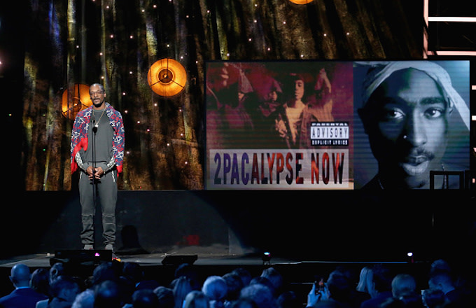 Snoop Dogg speaks about 2017 Inductee Tupac Shakur
