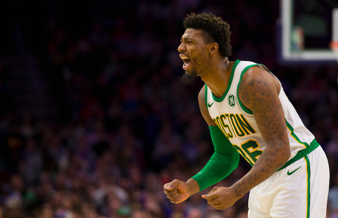 new product 416ed 0848d Marcus Smart Ejected After Pushing Joel Embiid | Complex