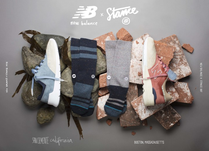newest 26227 88b41 New Balance & Stance Celebrate Their Hometowns with New ...