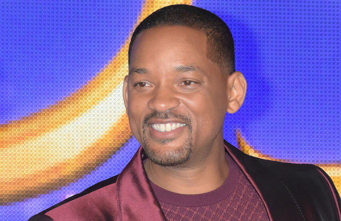 Will Smith attends the Japan premiere of 'Aladdin.'