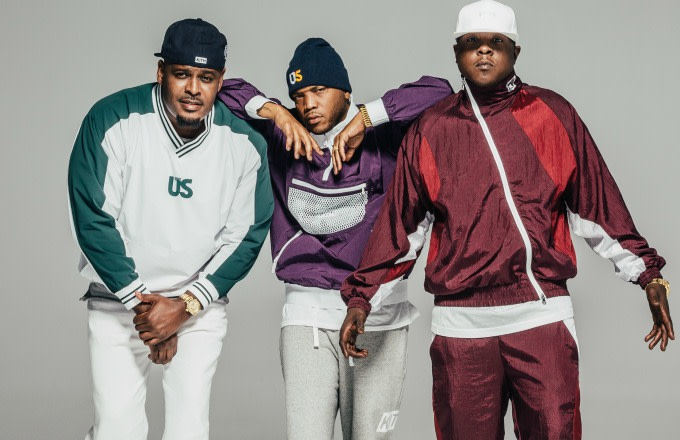 This is Kith's 96 Collection campaign featuring The Lox.
