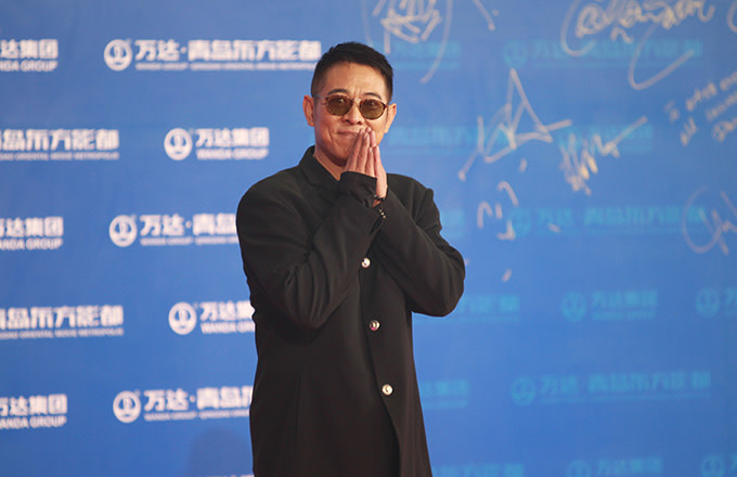 This is a photo of Jet Li.