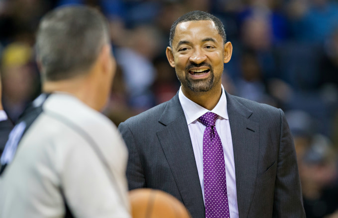 Heat Asst. Coach Juwan Howard
