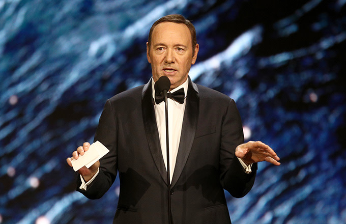 This is a photo of Kevin Spacey.