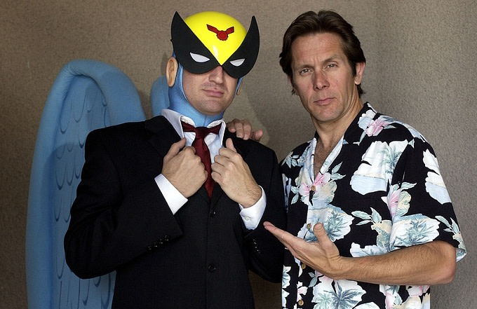 Harvey Birdman and his voice, Gary Cole