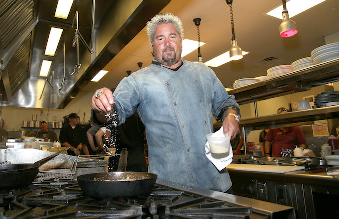 Guy Fieri S Guy S American Kitchen And Bar In Times Square