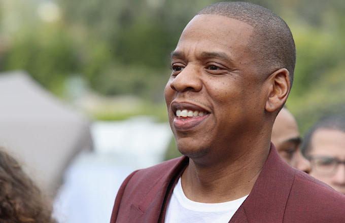 Jay-Z attends 2017 Roc Nation Pre-Grammy Brunch