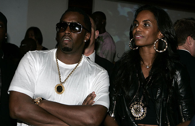 This is a photo of Kim Porter.