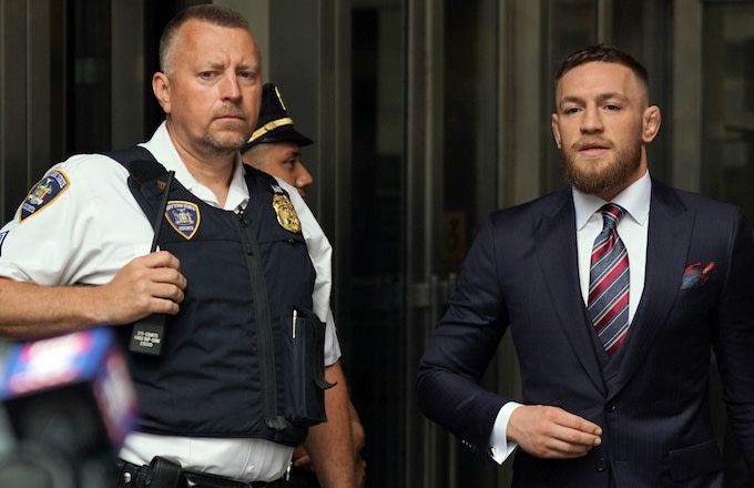 Conor McGregor Police