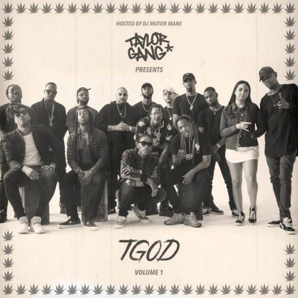 This is Taylor Gang's 'TGOD Vol. 1' mixtape art.
