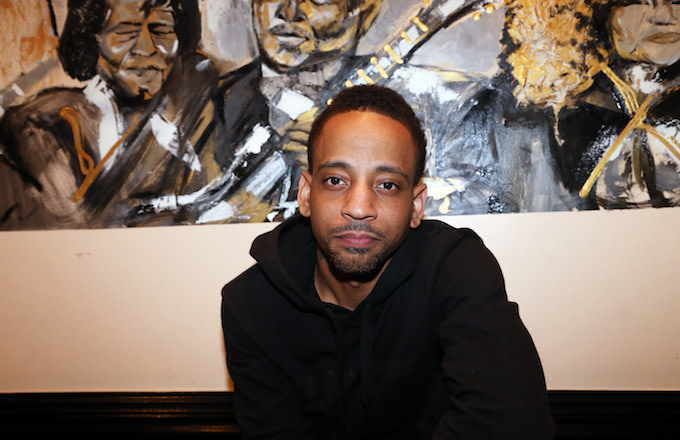 Singer-songwriter J. Holiday