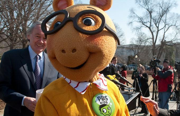 Arthur mascot