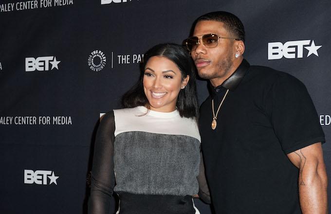 Rapper Nelly and girlfriend Shantel Jackson