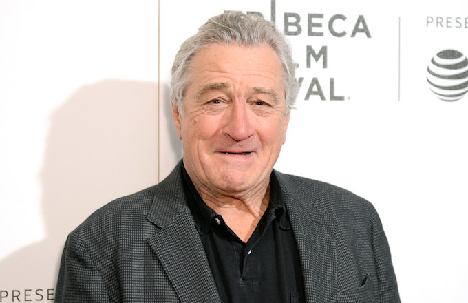 Robert De Niro attends the DIRECTTV Premiere Of 'Women Walks Ahead.'