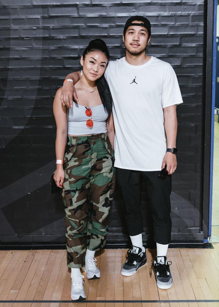 Fashion blogger Anna Bediones, and her boyfriend sneakerhead Philip Aglipay