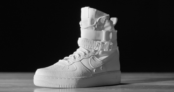 sneakers for cheap 8858d ad415 Nike SF Air Force 1 White