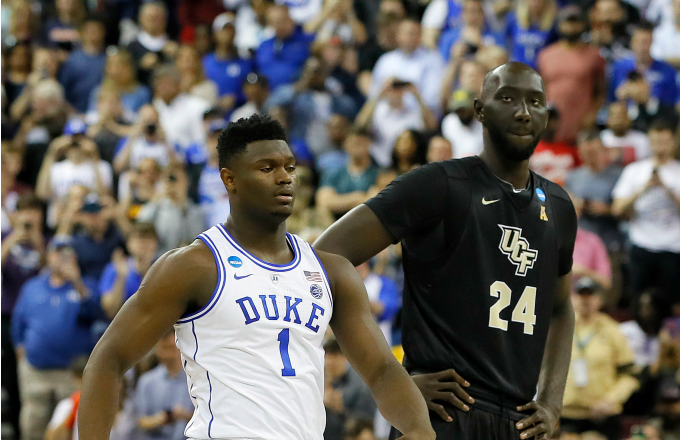 Here Are Ucf S Tacko Fall S Official Nba Combine