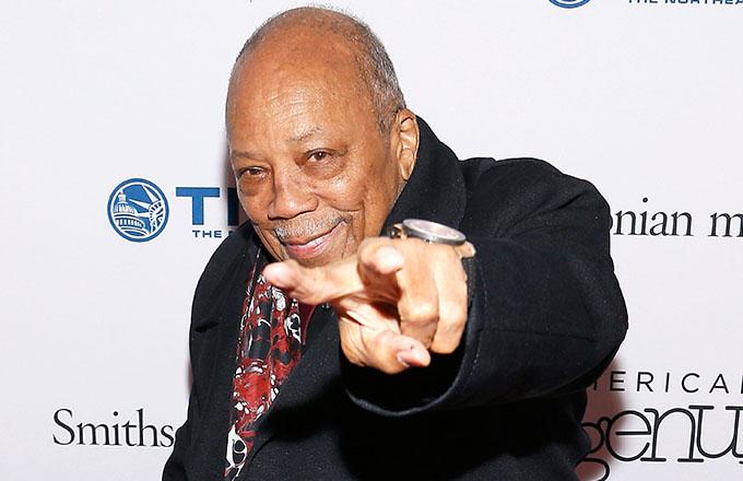 This is a photo of Quincy Jones.