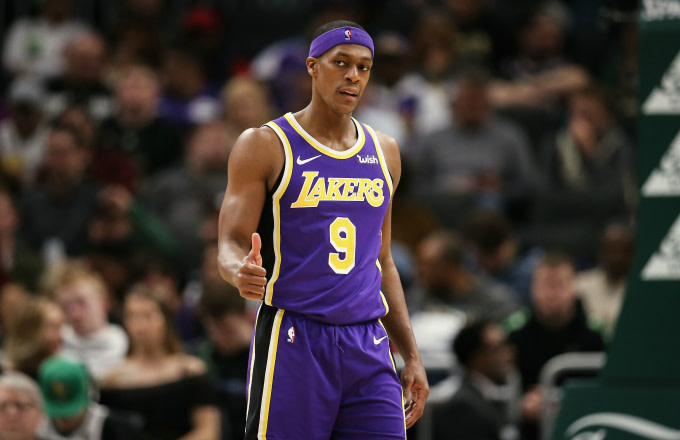 new style 8e58d 9ba04 Rajon Rondo Hopes to Return to the Lakers | Complex