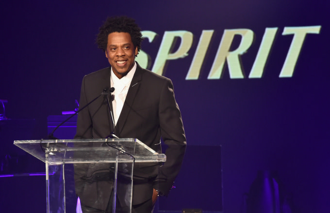 Jay-Z speaks onstage at the City of Hope Spirit of Life Gala