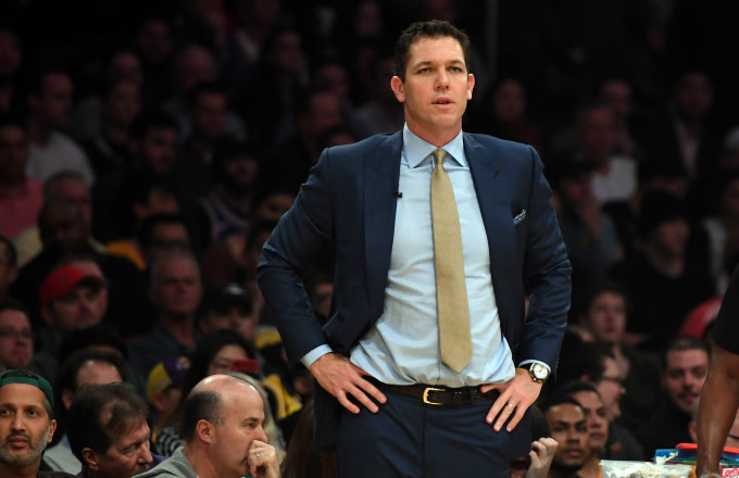 0d50777a881 Lakers Veterans and Luke Walton Reportedly Had a 'Heated' Locker ...