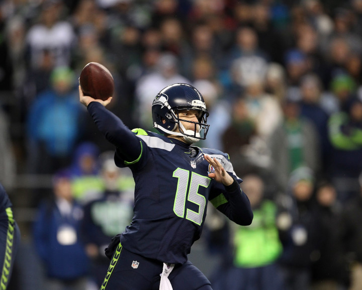 This is a photo of Matt Flynn on the Seattle Seahawks.