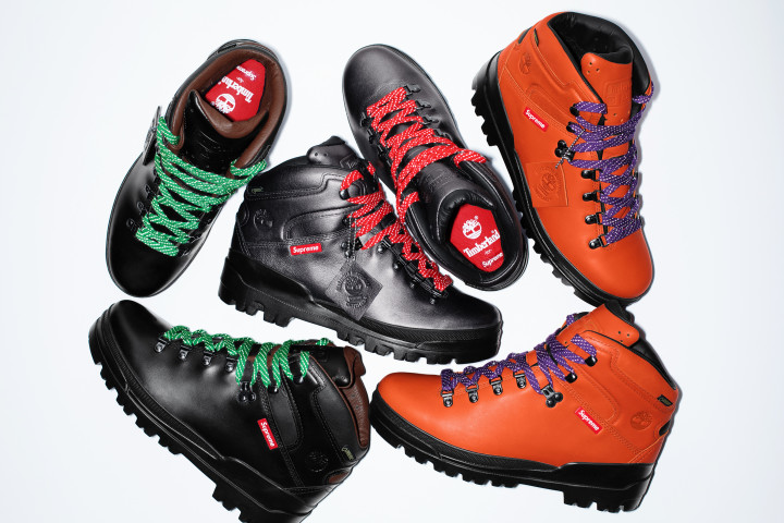 Supreme x Timberland World Hiker Front Country Boot