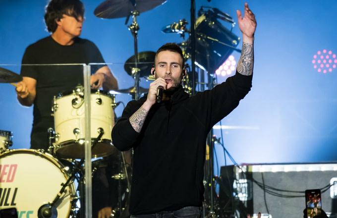 Singer-songwriter Adam Levine of Maroon 5