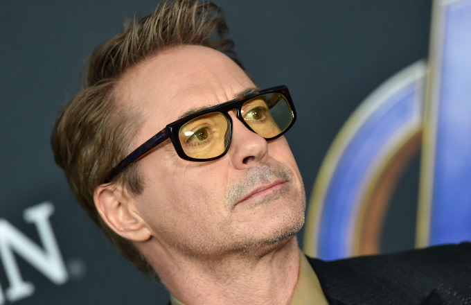 Robert Downey Jr. attends the World Premiere of Walt Disney Studios