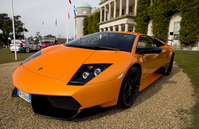 2010 LAMBORGHINI MURCIELAGO 670 SUPER. GOODWOOD FESTIVAL OF SPEED.
