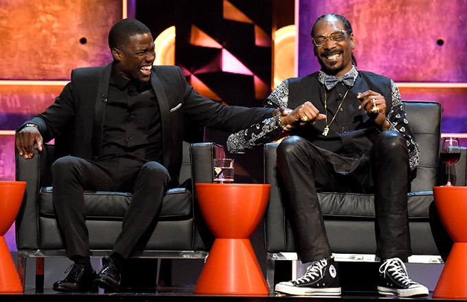 Snoop Dogg and Kevin Hart