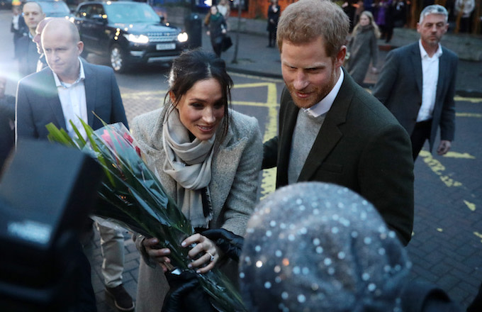 Prince Harry and Meghan Markle visit Reprezent 107.3FM in Pop Brixton.