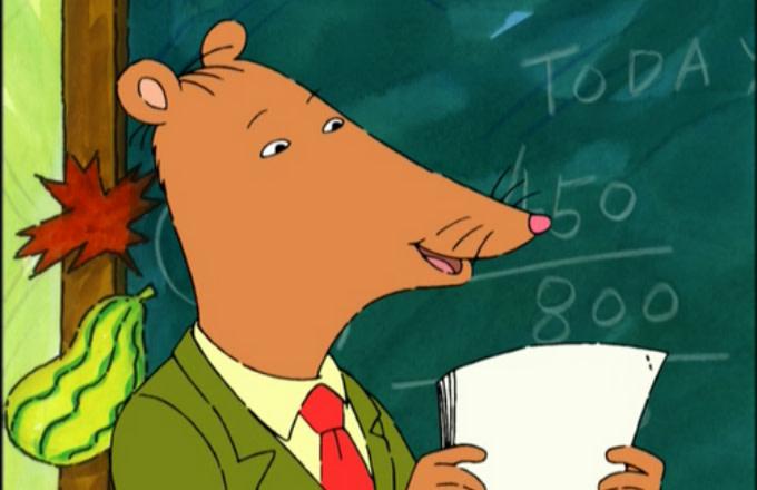 Arthur's teacher Mr. Ratburn
