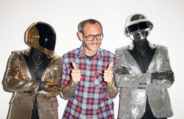 Terry Richardson Proves He Should Be the Third Member of Daft Punk With His Latest Photo Shoot