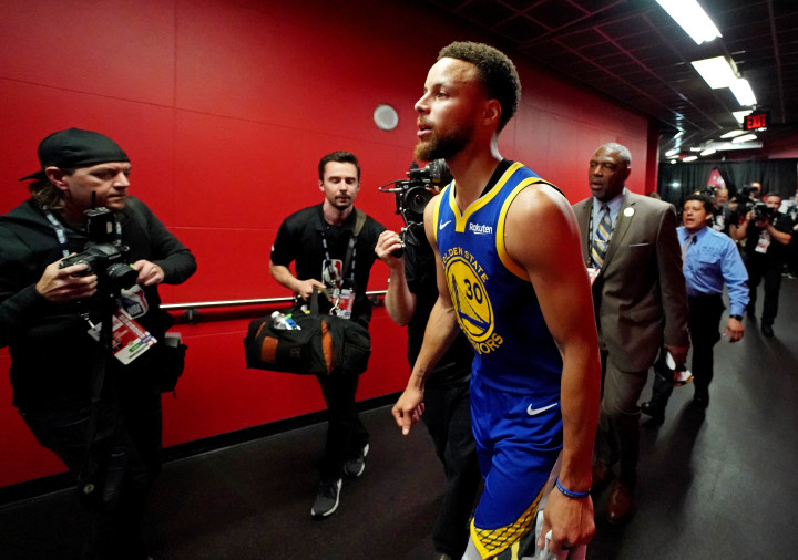 Steph Curry Game 5 NBA Finals Scotiabank Arena