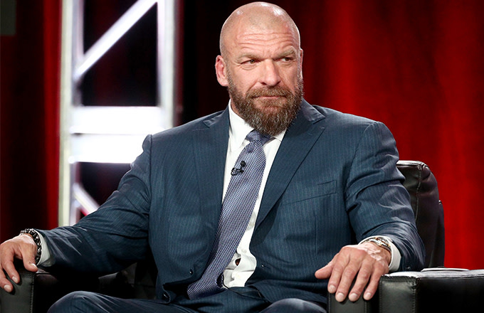 This is a photo of Triple H.