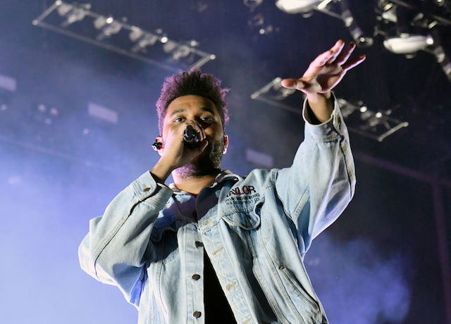 This is a picture of The Weeknd.
