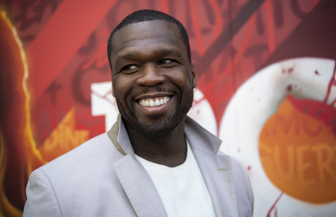 Curtis '50 Cent' Jackson attends the presentation of 'Power' Fourth Season.