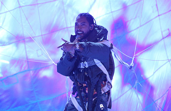 Miguel performs on 'The Tonight Show'