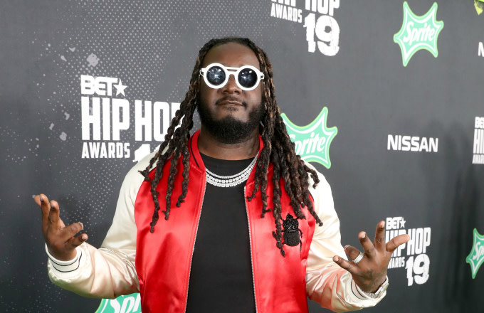 T-Pain attends the BET Hip Hop Awards 2019