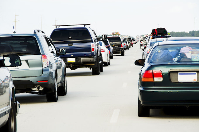 This is a picture of traffic.