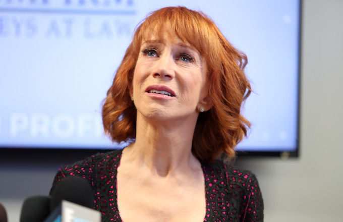This is Kathy Griffin.