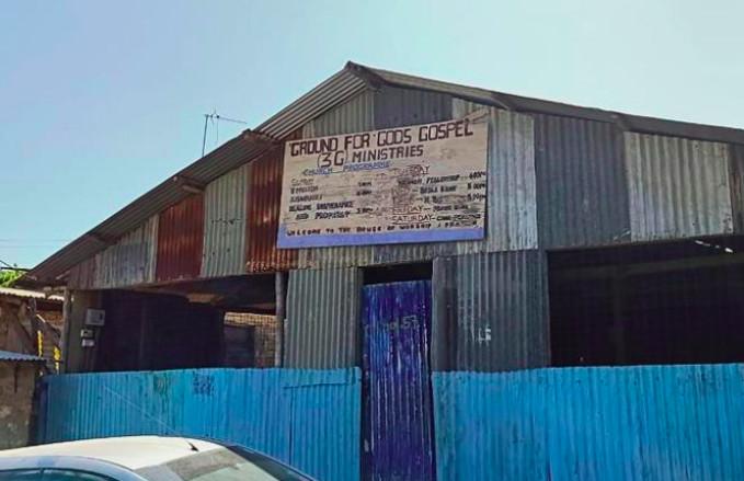 The Ground for God's Gospel Church in Mombasa, Kenya