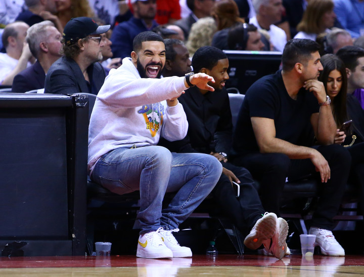 Drake Courtside