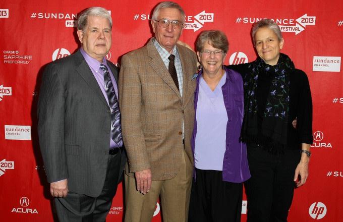 Dr. Warren Hern at the 'After Tiller' premiere.