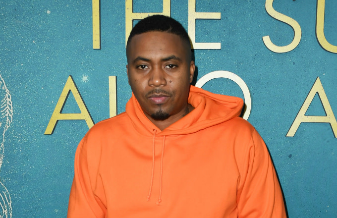 "Nas attends the World Premiere Of Warner Bros ""The Sun Is Also A Star"""