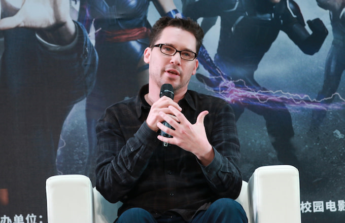 This Bryan Singer at a China for 'X-Men: Apocalypse.'