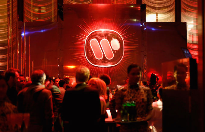 Warner Music Group party