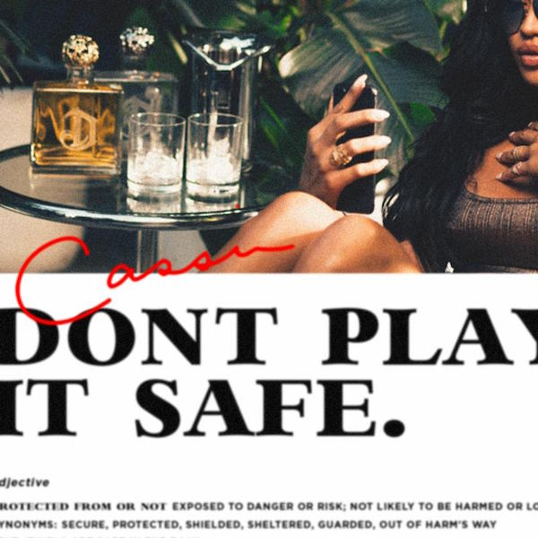 "Cassie ""Don't Play It Safe"" album cover."