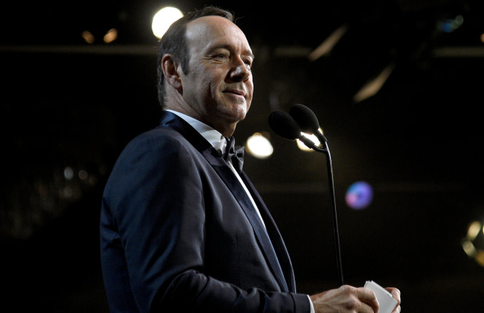 Kevin Spacey presents Britannia Award for Excellence in Television